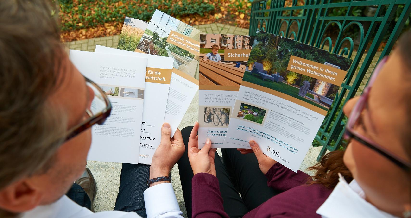 Unsere Broschüren Referenz vivawest