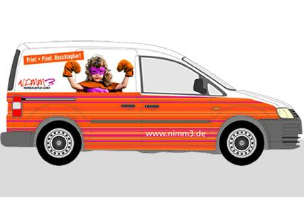 Geben Sie Gas – unterwegs mit Nimm3!