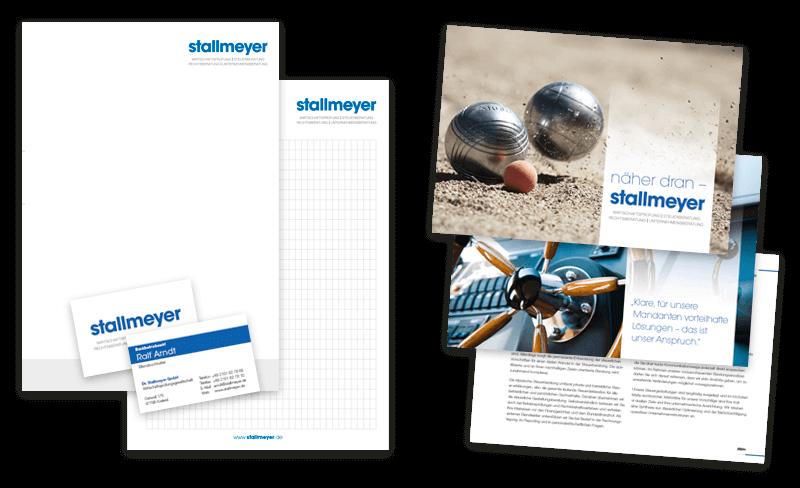 Nimm3 Werbeagentur Corporate Design Broschüre