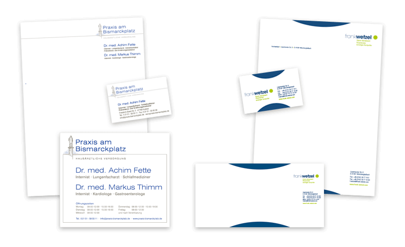 Nimm3 Werbeagentur Corporate Design Geschäftsausstattung
