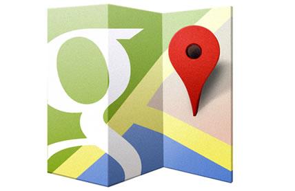 Update der Google Maps