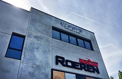 Werbeagentur Nimm3 in Krefeld über Holz Roeren