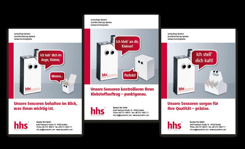 Nimm3 Werbeagentur Print Werbemittell