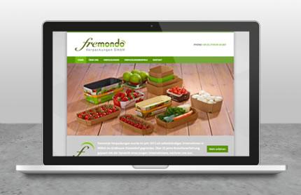 fremondo Webseite