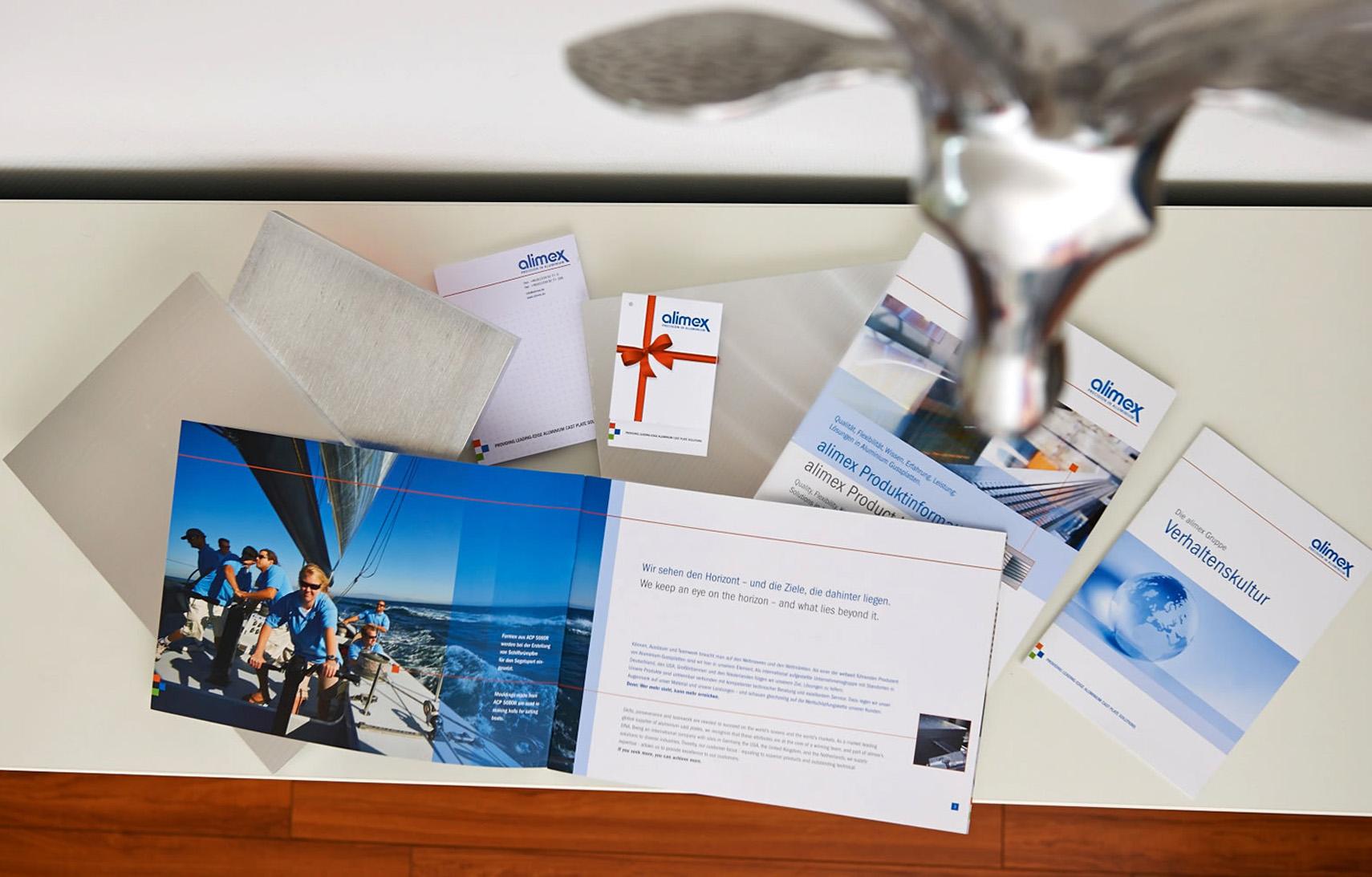 alimex Broschüre Kundenreferenz