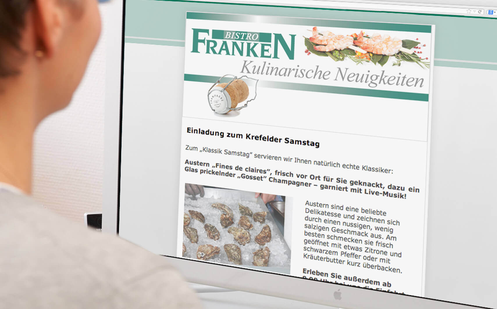 Delikatessen Franken Aktions-Newsletter