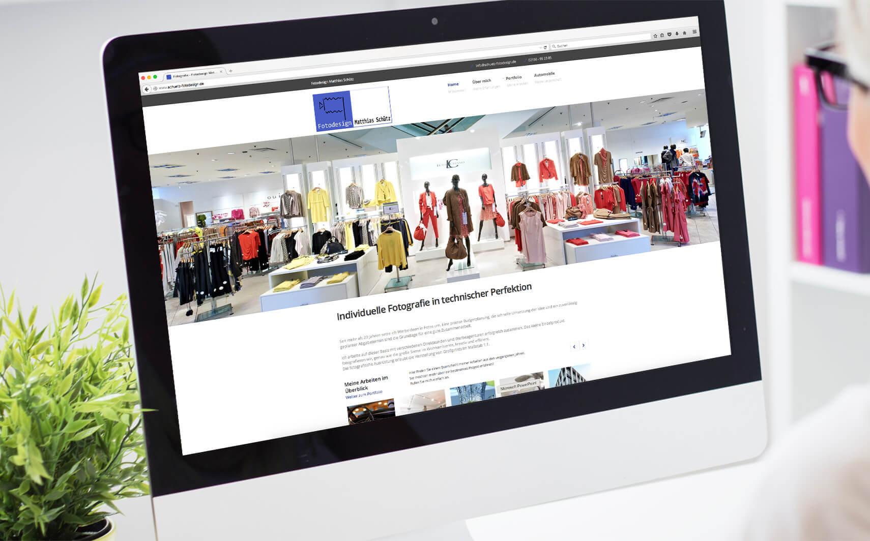 Website referenz Schütz Fotodesign